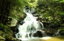 Short hike to Heart-Stirring Falls in The Berkshires- Wahconah Falls