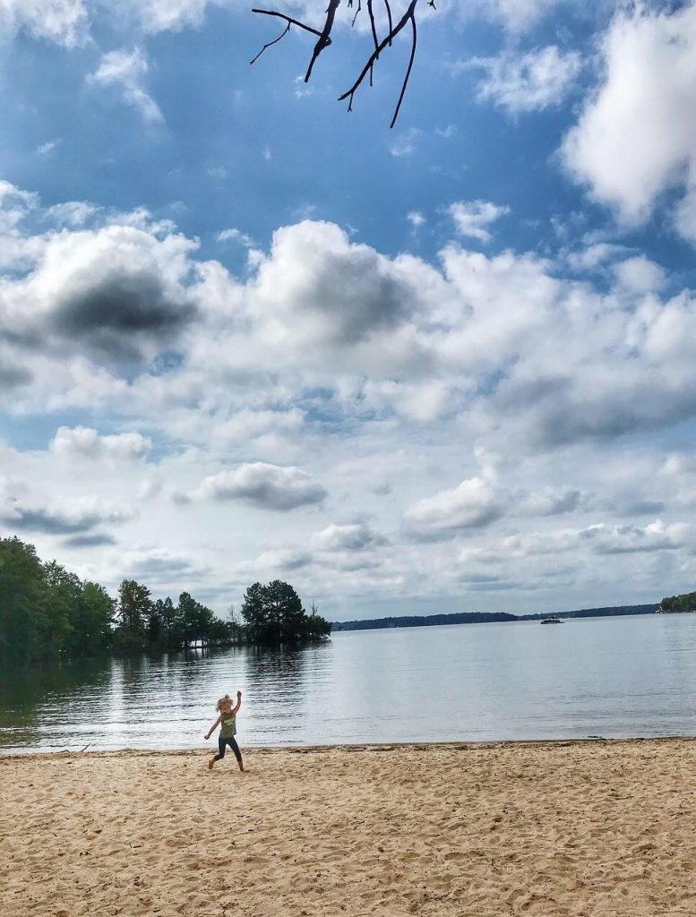 Jetton Park beach, Cornelius NC