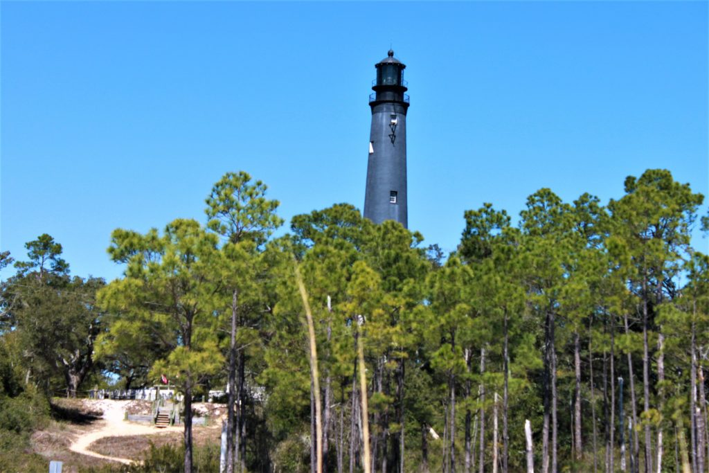 pensacola lighthouse, gulf of mexico