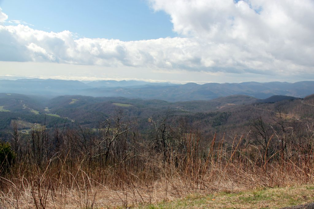 Elk MOuntain Overlook, Blue Ridge parkway, North Carolin