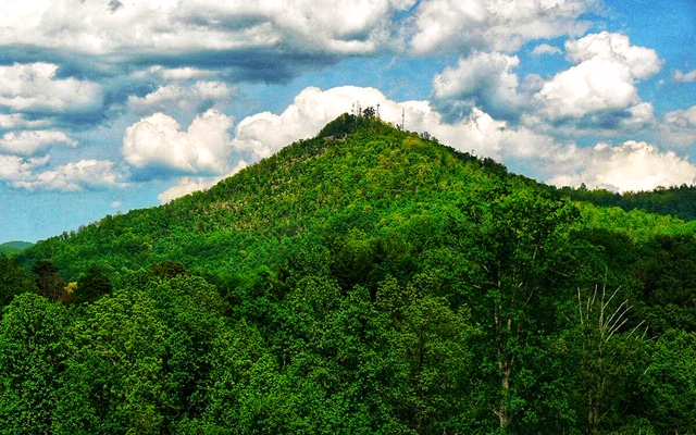 Hibriten Mountain, Lenoir NC