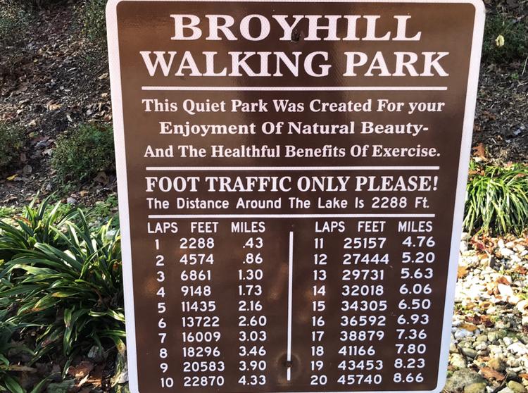 T.H. Broyhill Walking Park